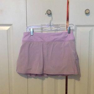 Lululemon lavender ruffle skirt sz 6 58188